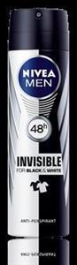 Nivea men deo invisible for black&white 150ml